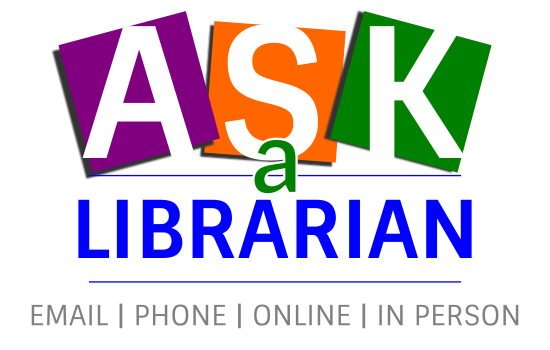 The ask a librarian feature