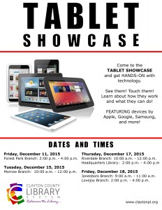 Tablet Showcase Flyer