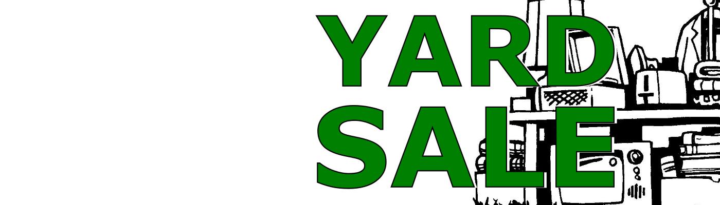 Spring Fling Yard Sale