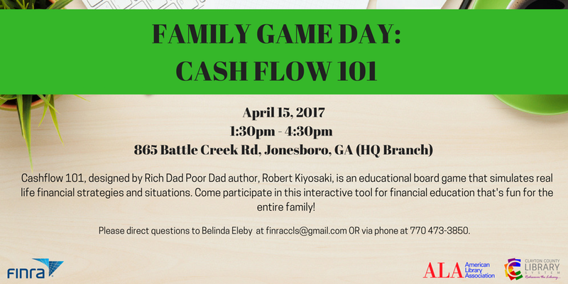 April 15th CashFlow Game