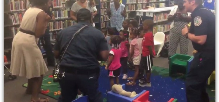 Jonesboro Library Storytime with the Firefighters