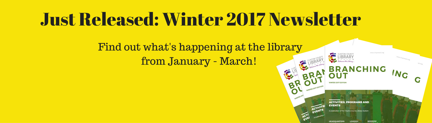 Just Released: Winter 2017 Newsletter