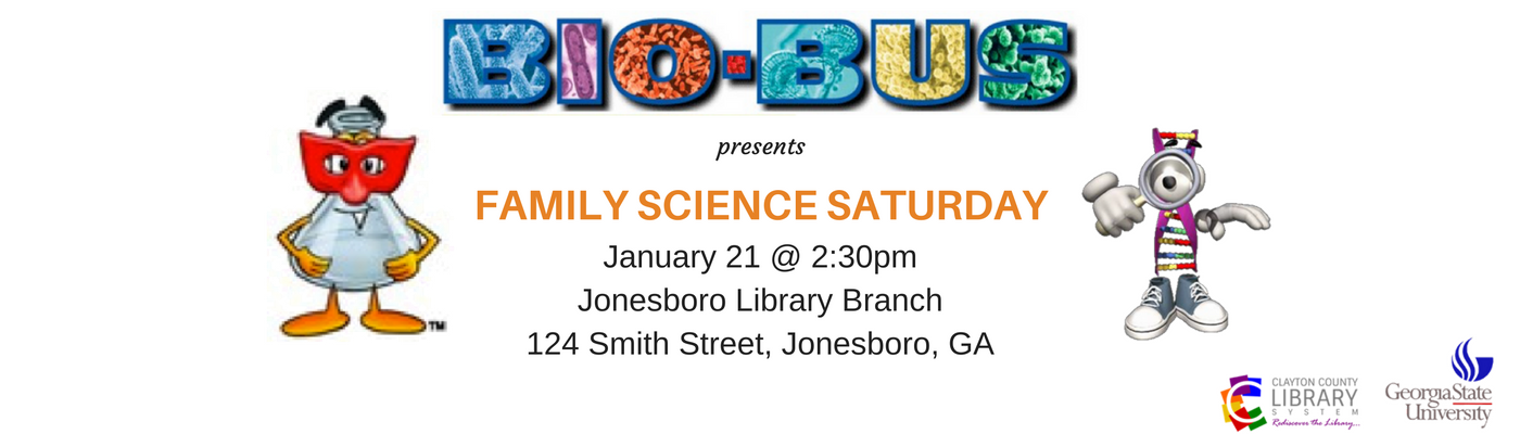 Family Science Saturday is Here!