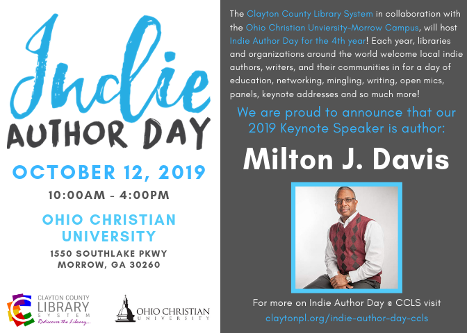 Indie Author Day at CCLS - Clayton County Library System