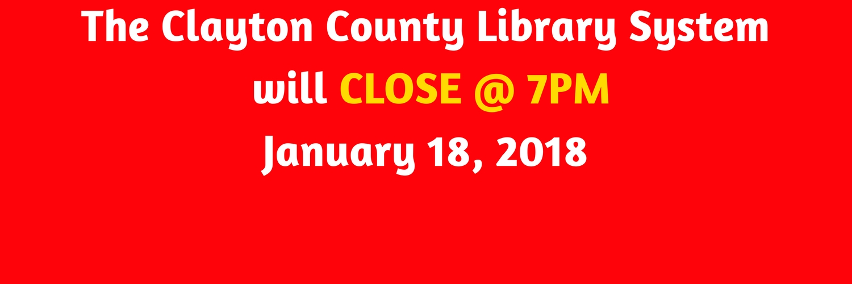 Library Closings