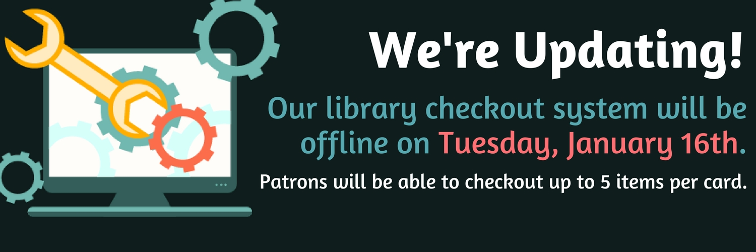 library checkout system offline clayton county library system
